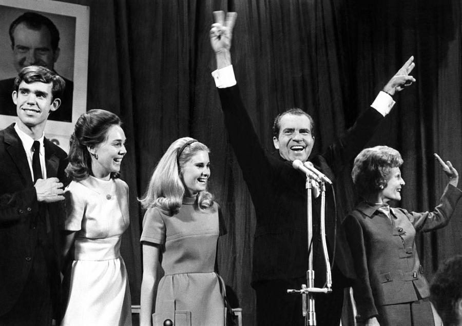 New President-elect Richard Nixon Photograph  - New President-elect Richard Nixon Fine Art Print