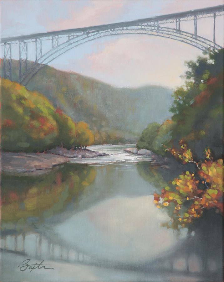 New River Gorge Painting
