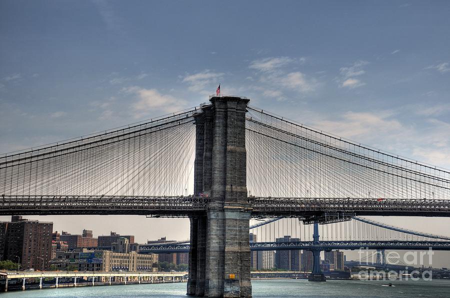 New York Bridges Photograph