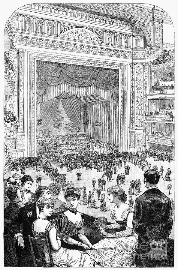 New York Charity Ball, 1884 Photograph