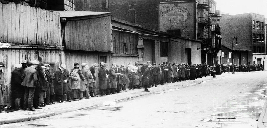 New York City: Bread Line Photograph