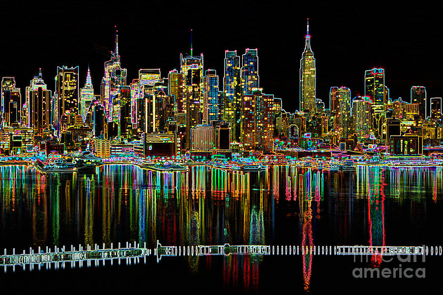 Clarence Holmes Photograph - New York City Skyline Morning Twilight II ...