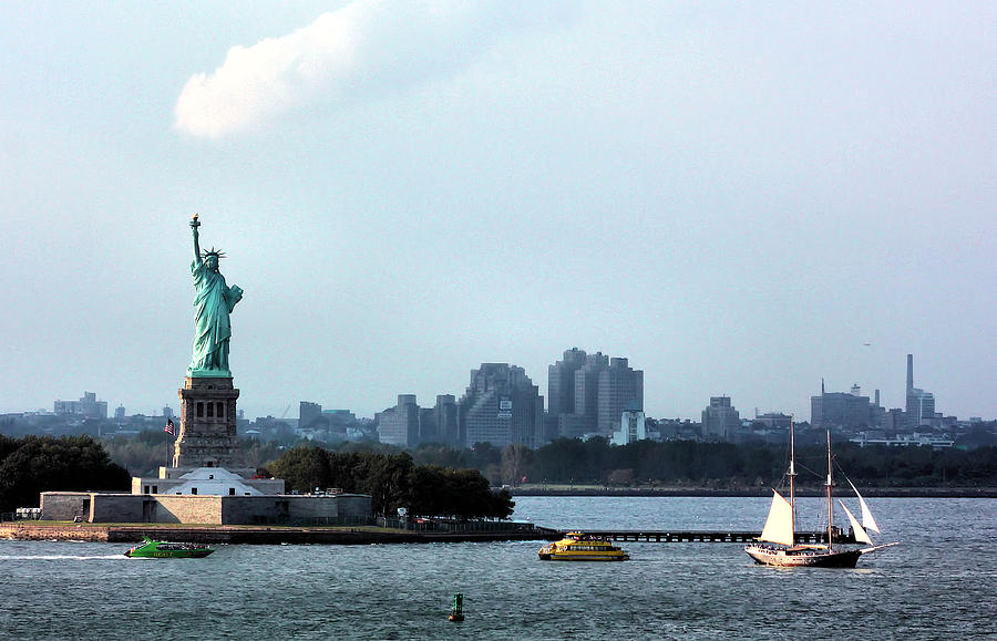 New York Harbor Photograph