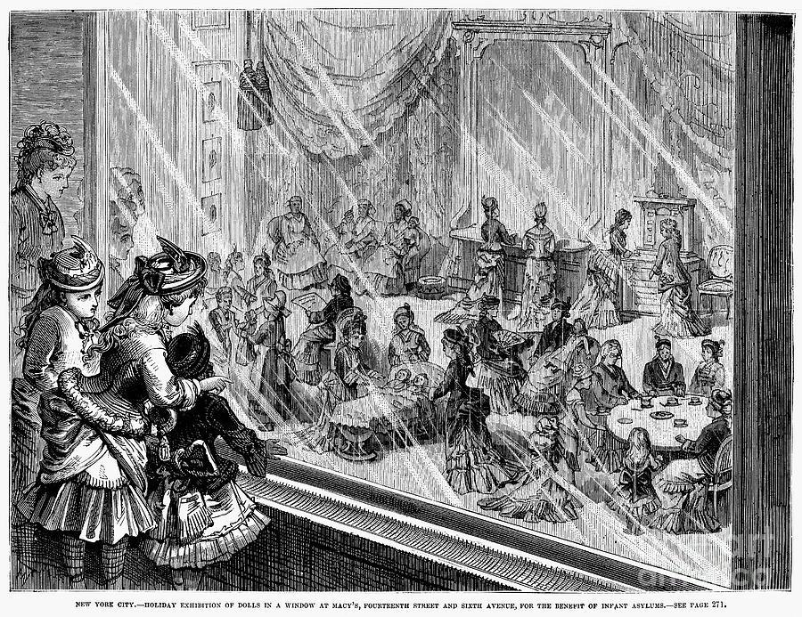1876 Photograph - New York: Macys, 1876 by Granger