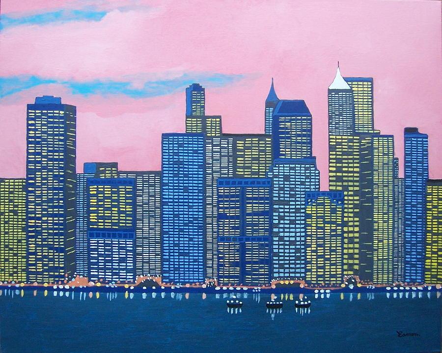 New York New York Painting