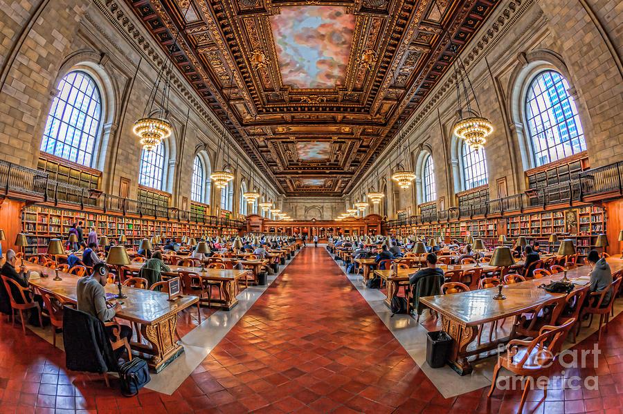 New York Public Library Main Reading Room I Photograph