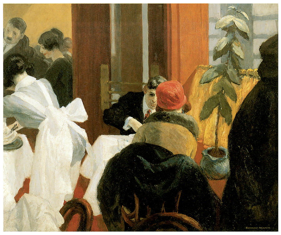 1000 images about edward hopper on pinterest for Diner painting