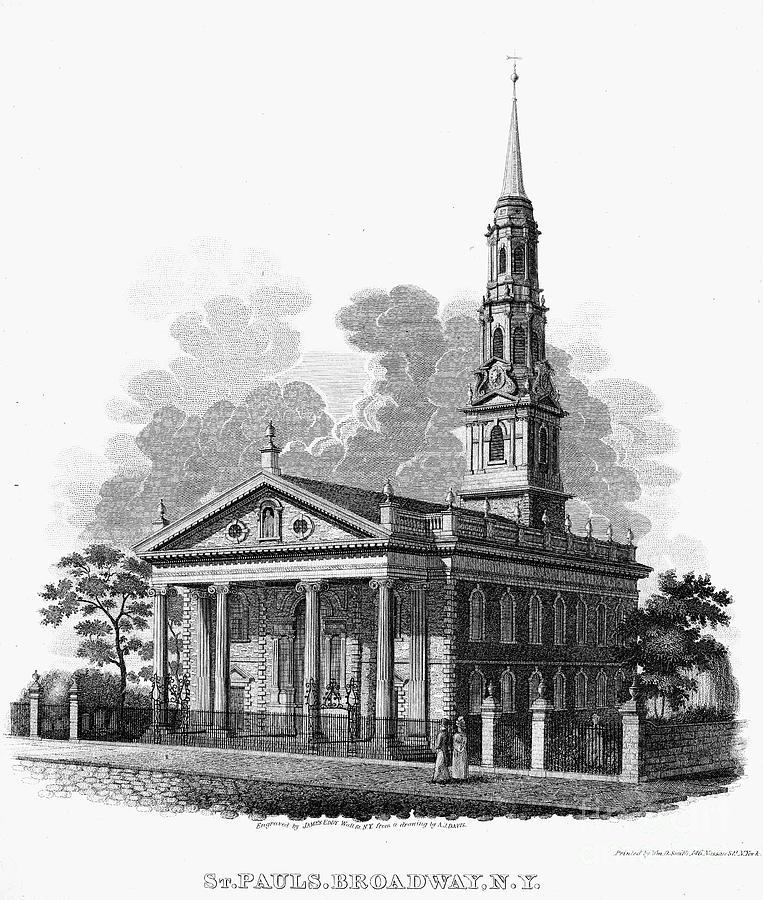 New York: St Pauls Church Photograph