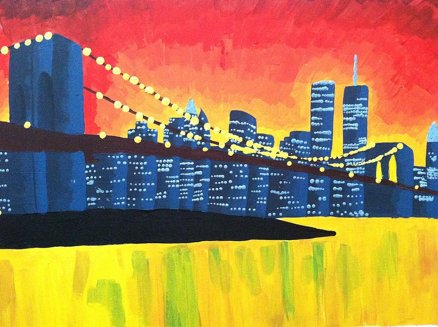 New York State Of Mind Painting  - New York State Of Mind Fine Art Print