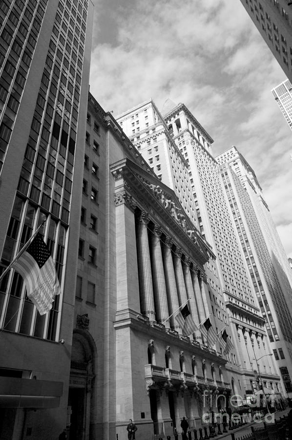 New York Stock Exchange 2011 Photograph