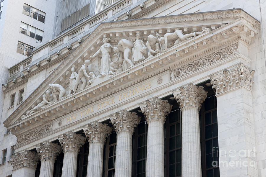 New York Stock Exchange I Photograph  - New York Stock Exchange I Fine Art Print
