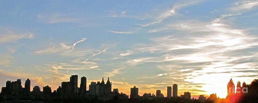 New York Sunset 2 Photograph
