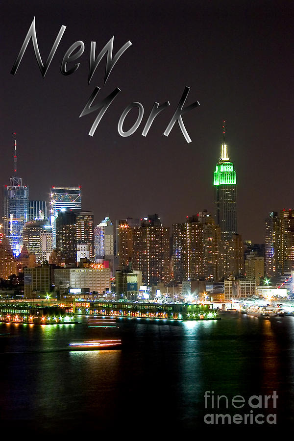 New York Photograph - New York by Syed Aqueel