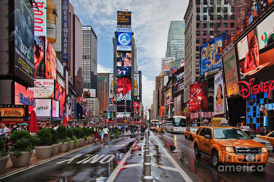 New york times square photograph