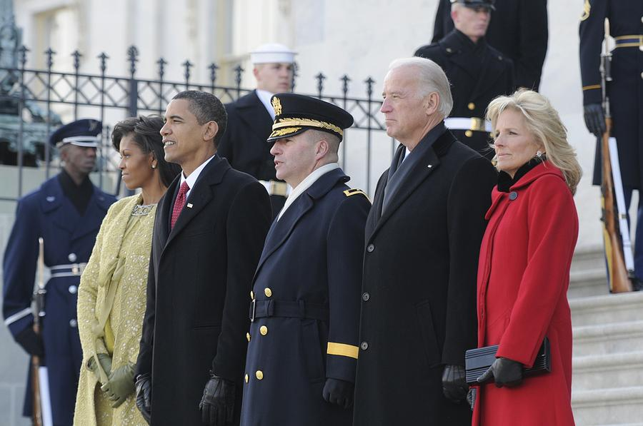 Newly Inaugurated President Obama Photograph