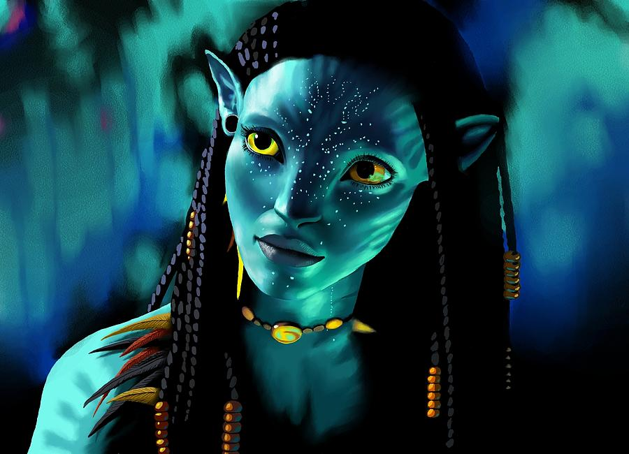 Neytiri Digital Art