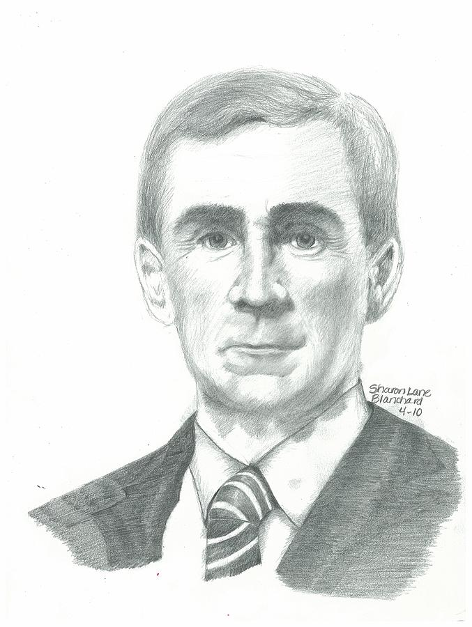 Nfl Coach Mike Shananan Drawing