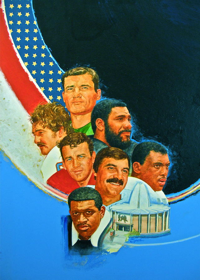 Nfl Hall Of Fame Game Day Cover Painting