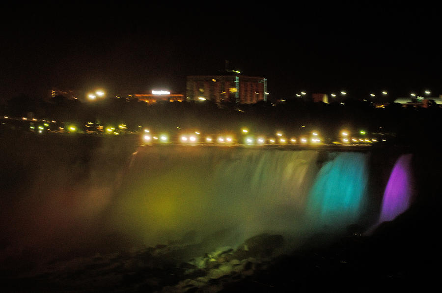 Niagara Falls Photograph - Niagara Fall Colors by Cheryl Cencich