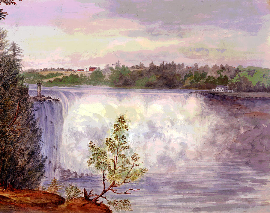 Niagara Falls Mixed Media
