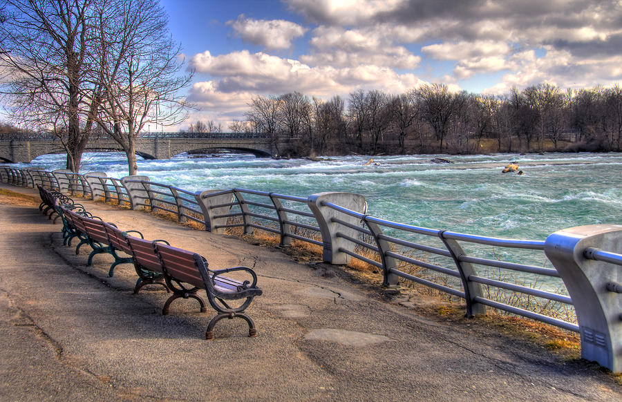 Niagara Rapids In Early Spring Photograph