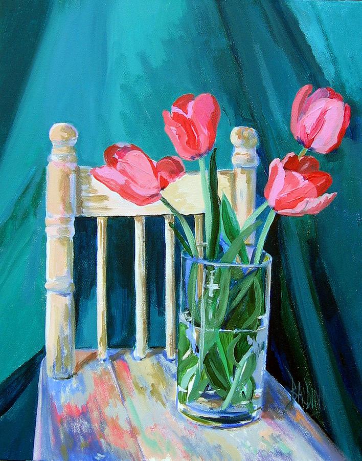 Niagara Tulips Painting