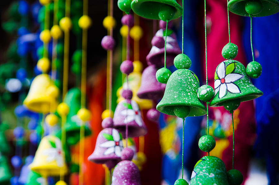 Celebration Photograph - Nicaraguan Bells by William Shevchuk
