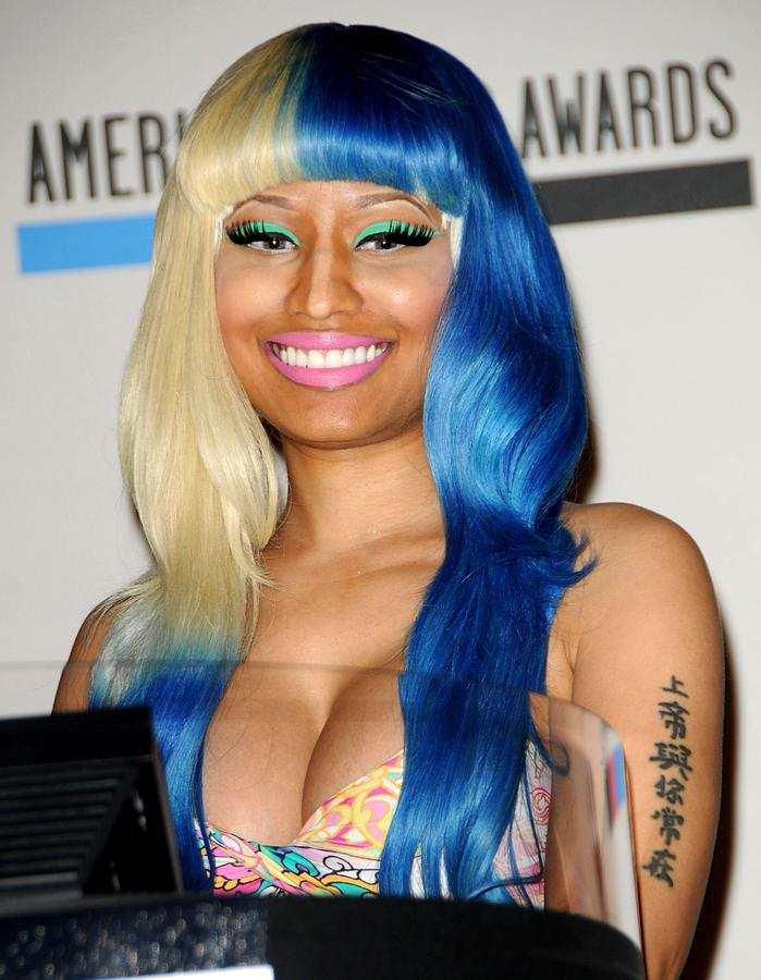 Nicki Minaj At The Press Conference Photograph