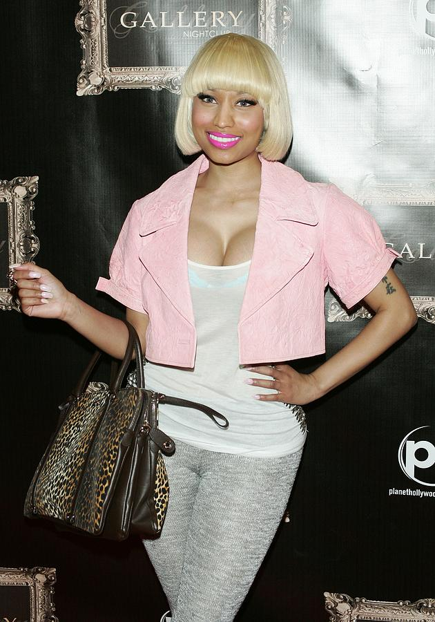 Nicki Minaj In Attendance Photograph  - Nicki Minaj In Attendance Fine Art Print
