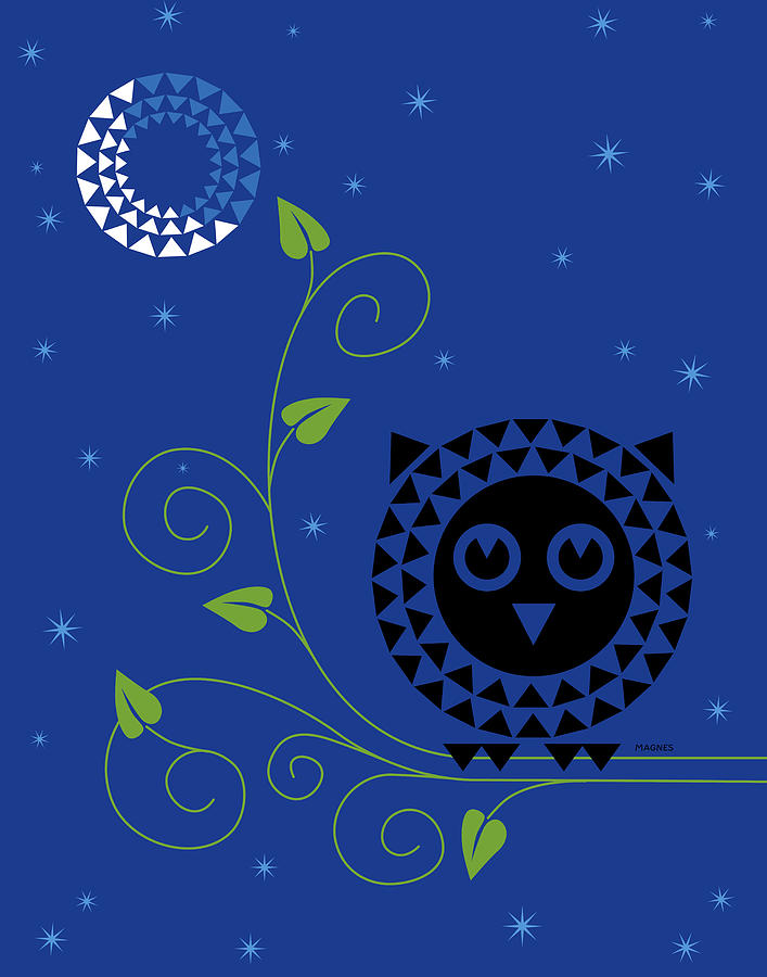 Night Owl Digital Art