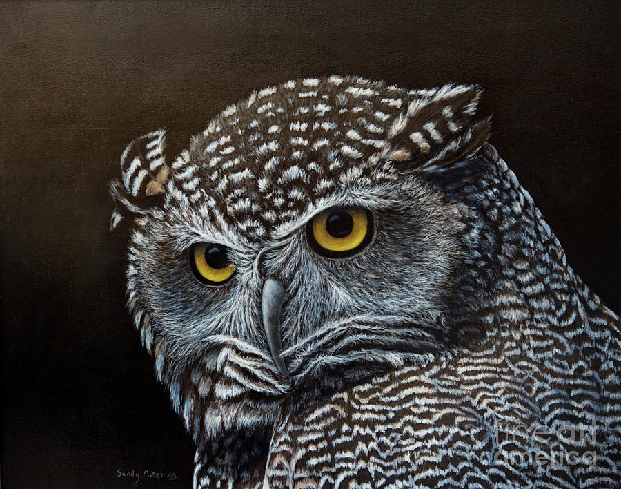 Night owl by sandy moser for Night owl paint color