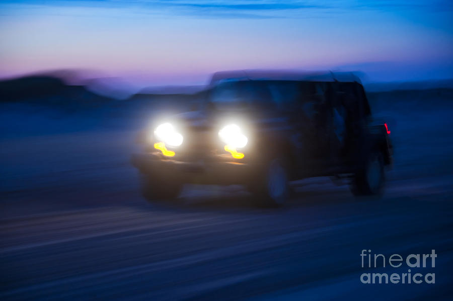 Night Rider Photograph