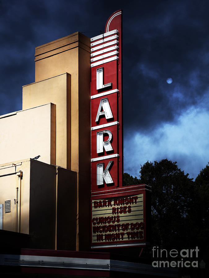 Nightfall At The Lark - Larkspur California - 5d18482 Photograph  - Nightfall At The Lark - Larkspur California - 5d18482 Fine Art Print