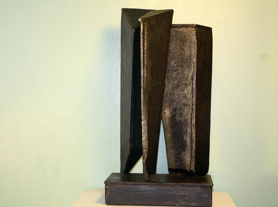 Abstracts Sculpture - Nightscape by Al Armstrong