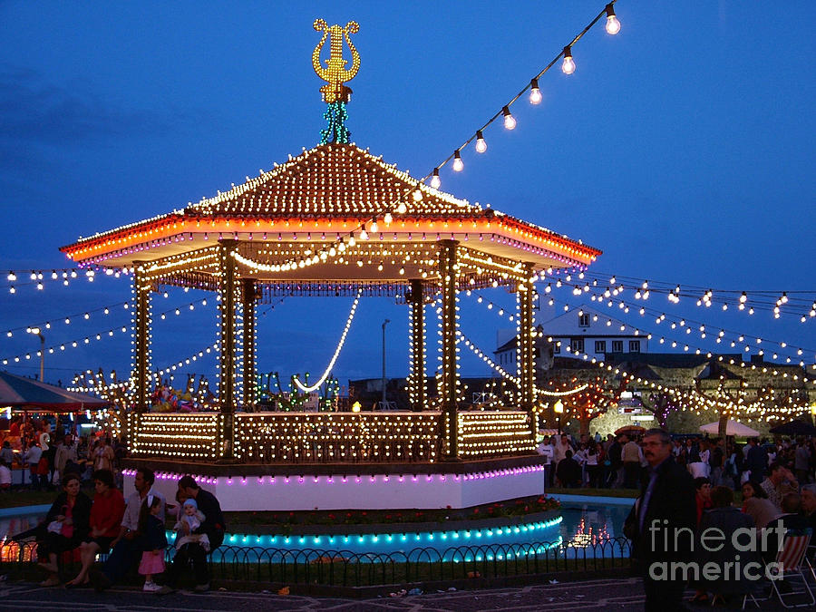 Nighttime Religious Celebrations Photograph  - Nighttime Religious Celebrations Fine Art Print
