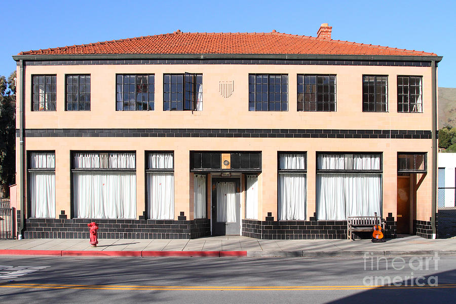 Niles California Banquet Hall . 7d12736 Photograph  - Niles California Banquet Hall . 7d12736 Fine Art Print