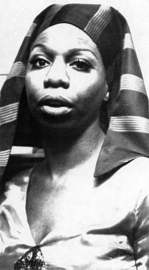 Nina Simone, 1978 Photograph