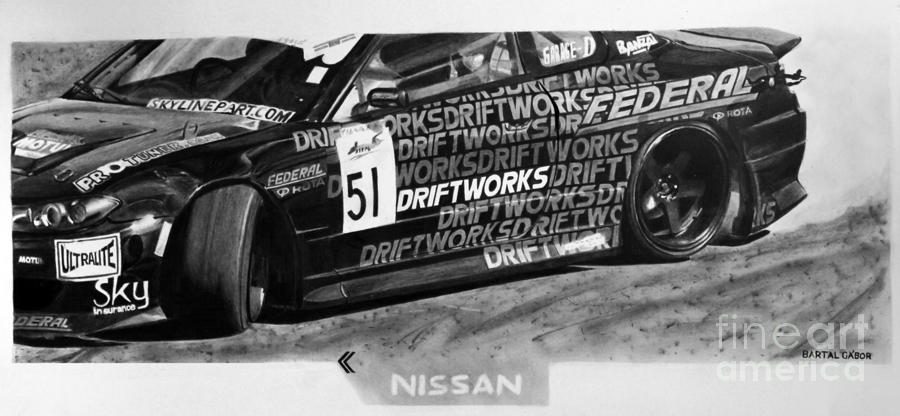 Nissan S15 Driftworks 2010 Drawing