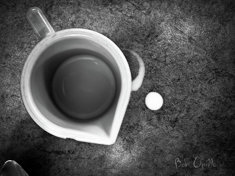 No Cream For My Coffee Photograph