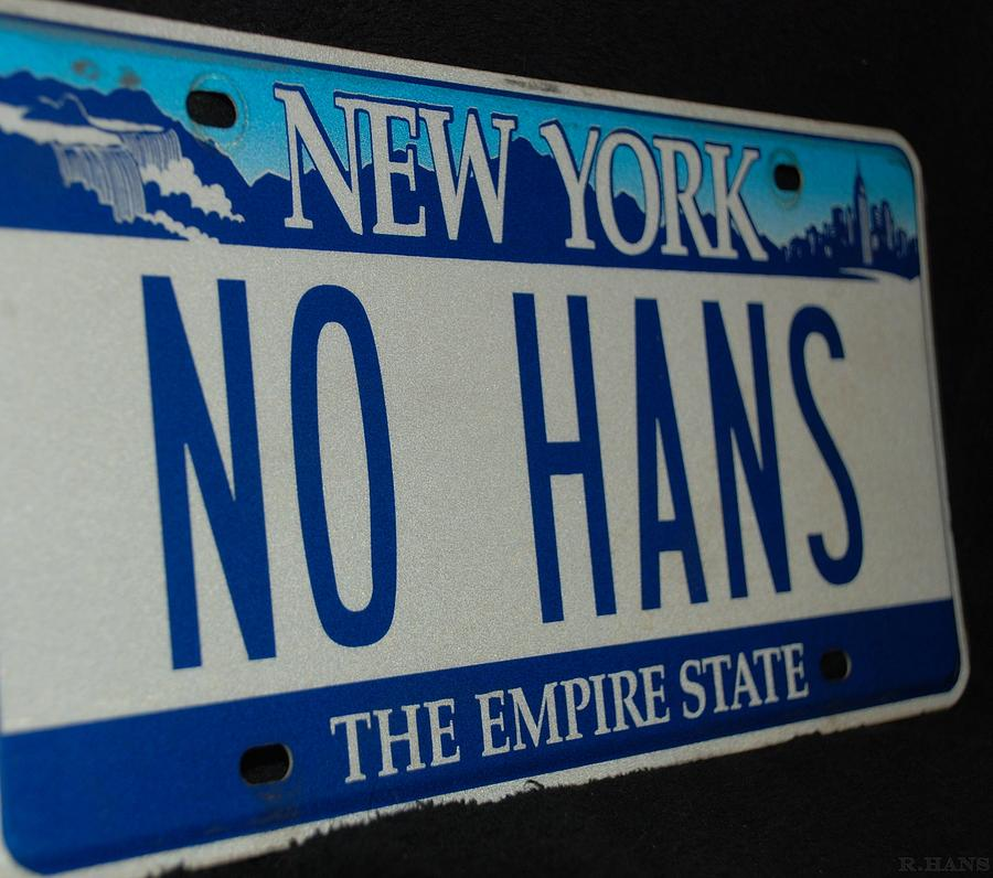 No Hans Photograph  - No Hans Fine Art Print