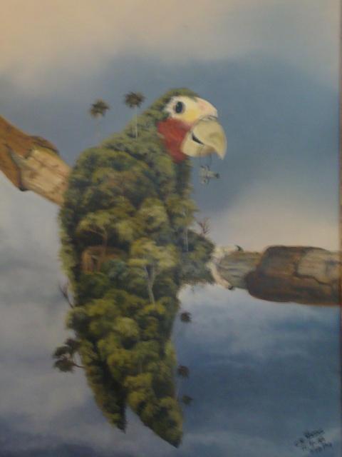 No Hay Flora Sin Fauna Painting