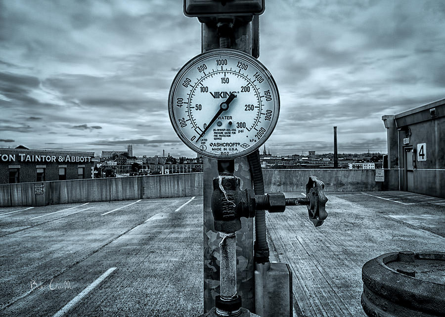 No Pressure Or The Valve At The Top Of The City  Photograph