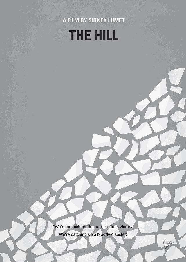 No091 My The Hill Minimal Movie Poster Digital Art