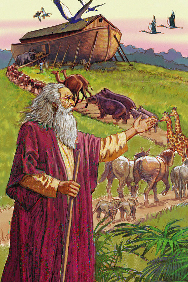 Noahs Ark Digital Art