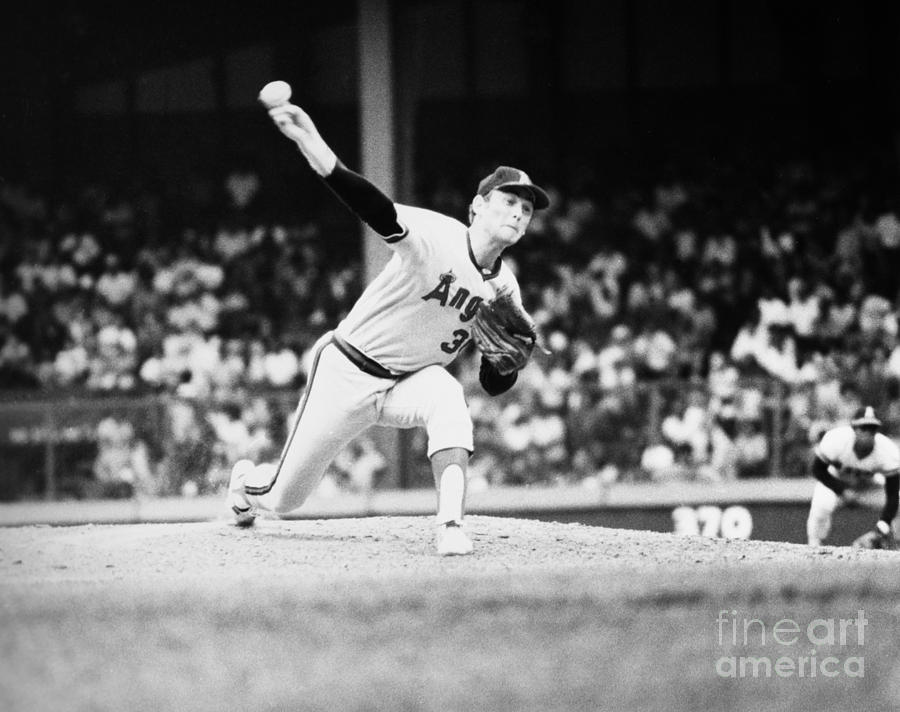 Nolan Ryan (1947- ) Photograph