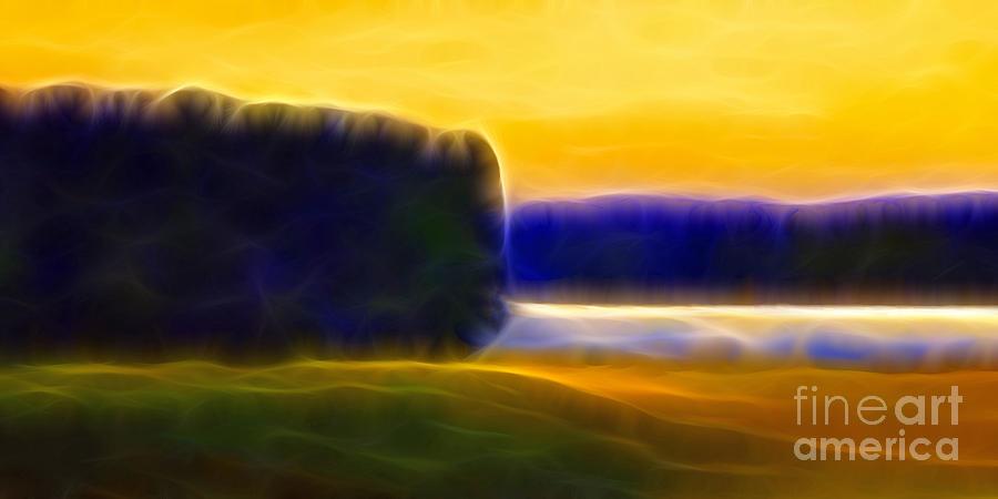 Nordic Lightscape Digital Art