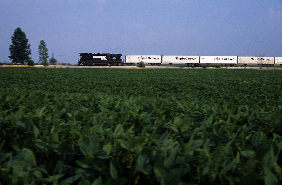 Trains Photograph - Norfolk Southern Midwest by Susan  Benson