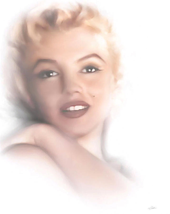 Norma Jeane Digital Art