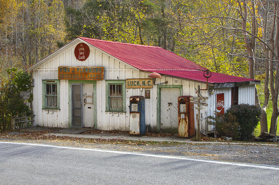 North Carolina Country Store And Gas Station Photograph