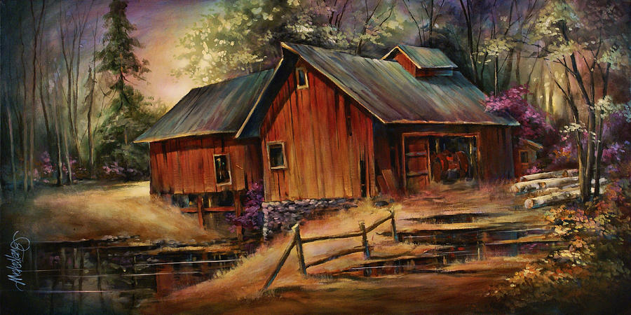 North Country Painting  - North Country Fine Art Print